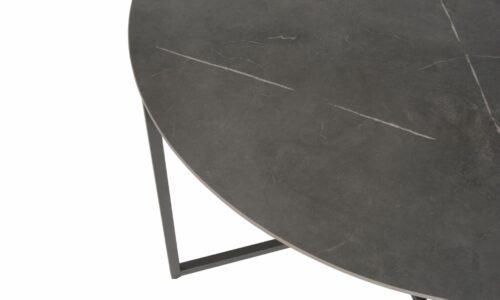 Quatro round table ceramic 4SO detail 1