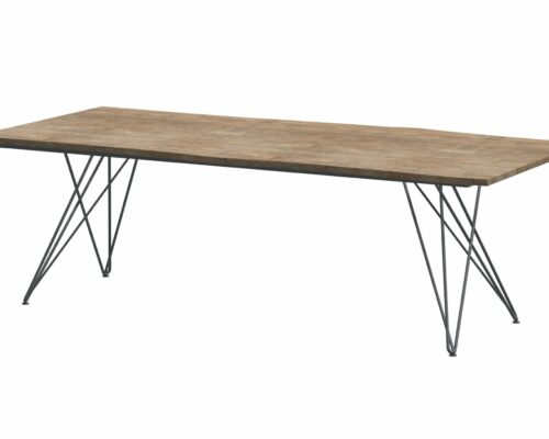 Robusto teak top with tampa